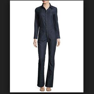 3x1 Long Sleeve Denim Jumpsuit